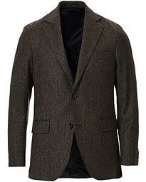 Oscar Jacobson Fogerty Yorkshire Tweed By Moon Blazer Brown