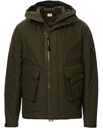 C.P. Company Micro M Padded Lens Jacket Olive