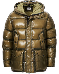 C.P. Company DD Shell Puffer Jacket Olive