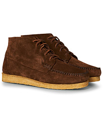 Crepe Sole Sports Boots Snuff Suede