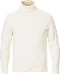 Virgin Merino Wool Rollneck Latte