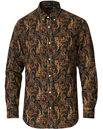 GANT Regular Fit Baby Cord Printed Paisily Shirt Multi