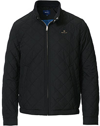 GANT The Quilted Windcheater Black