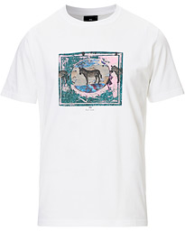 PS Paul Smith Framed Zebra Tee White