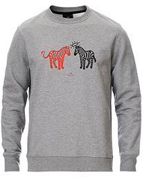PS Paul Smith Zebras Sweatshirt Grey Melange
