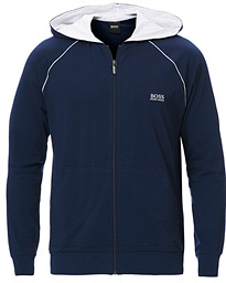 BOSS Mix & Match Full Zip Hoodie Dark Blue