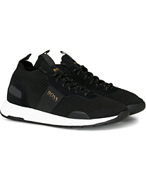 BOSS Titanium Running Sneaker Black