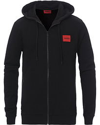 Daple Logo Full Zip Hoodie Black
