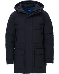 BOSS Domerlos Ripstop Parka Dark Blue