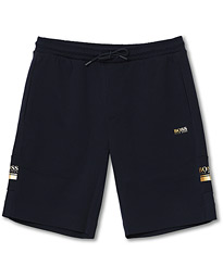BOSS Athleisure Headlo Sweatshorts Navy/Gold