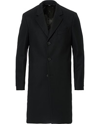 BOSS Nye Wool/Cashmere Coat Black