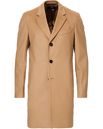 BOSS Nye Wool/Cashmere Coat Medium Beige