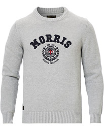 Morris Wren Knitted O-neck Grey