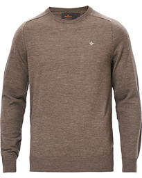 Morris Merino Crew Neck Light Brown