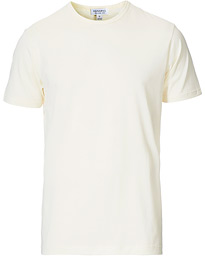 Sunspel Crew Neck Cotton Tee Archive White