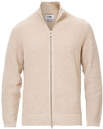 Piet Full Zip Light Khaki