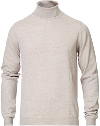 Stenströms Fine Merino Wool Rollneck Light Grey