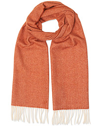 Stenströms Wool Scarf Orange