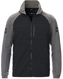 Sail Racing Race Tech Hybrid Full Zip Dark Grey Melange