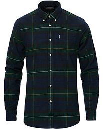 Barbour Lifestyle Highland Flannel Check Shirt Green