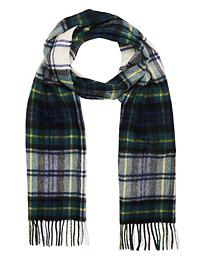New Check Tartan Lambswool/Cashmere Scarf Dress Gordon