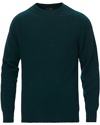 Brushed Wool Sweater Forest