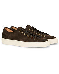 Suede Sneaker Dark Brown