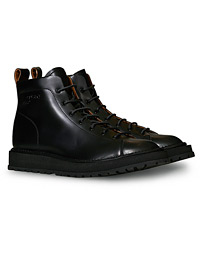Aedi Leather Boots Nero