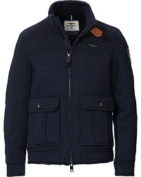 Aeronautica Flight Jacket Blu Navy