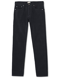 M7 Tapered Comfort Moleskin Trousers Navy