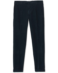 Easy Fit Corduroy Trousers Navy