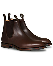 Chatsworth Chelsea Boot Dk Brown Waxy Calf