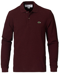 Lacoste Long Sleeve Polo Vigne Chine
