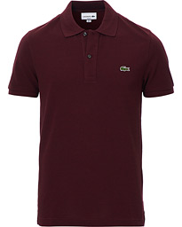 Lacoste Slim Fit Polo Piké Vigne Chine