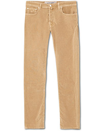 5-Pocket Corduroy Trousers Beige