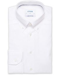 Slim Fit Royal Oxford Button Down Shirt White
