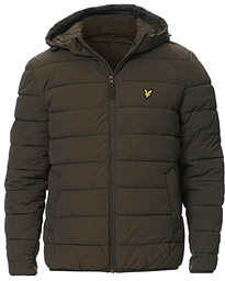 Lyle & Scott Lightweight Puffer Jacket Trek Green