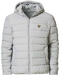 Lyle & Scott Lightweight Puffer Jacket Grey Fog