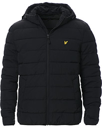 Lyle & Scott Lightweight Puffer Jacket Jet Black