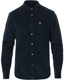 Lyle & Scott Corduroy Shirt Dark Navy