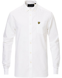 Lightweight Oxford Shirt White