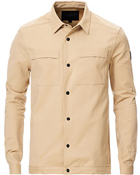 Black Eagle Cotton/Twill Overshirt Bleach Sand