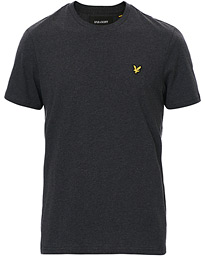 Lyle & Scott Crew Neck Tee Charcoal Marl