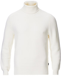 BOSS Manuello Rollneck  Open White