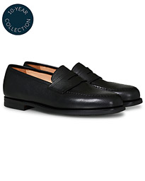 Boston Scotch Grain City Sole Black Calf