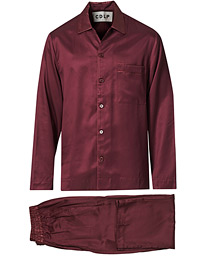 Home Suit Long Sleeve Burgundy