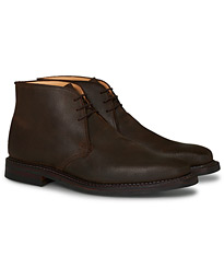 Molton Chukka Dk Brown Rough-Out Suede