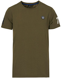 Grinder Crew Neck Tee Military Green