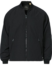 Hyde Quilted Bomber Jacket Caviar
