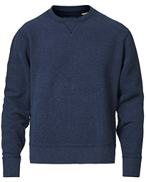 Relaxed Crew Neck Sweatshirt Olympus